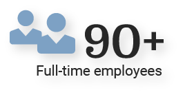 90 Full Time Employees